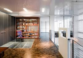 Light Parquet Flooring Texture Home Office Contemporary With Glass Wood