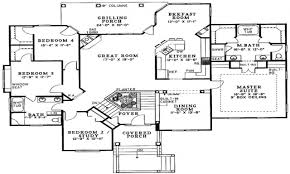 100 Floor Plans For Split Level Homes 5 Bedroom Split Level House Plans 3428194 Offshorcompinfo