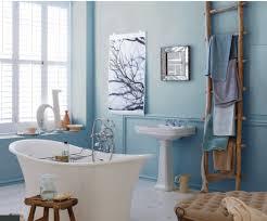 light blue bathroom ideas plain turquoise wall paint brown wooden