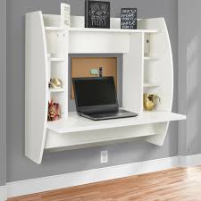 Sauder Harbor View Computer Desk Whutch by Best Choice Products Wall Mount Floating Computer Desk With