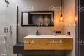 badezimmer mit integraler arbeitsplatte spüle stockfoto und mehr bilder architektur