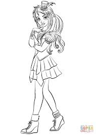 Descendants Wicked World Freddie Coloring Page Unusual 2 Uma Pages With