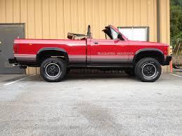1989 Dodge Dakota Factory Convertible 4X4 - Classic Dodge Dakota ...