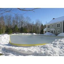 Backyard Rink Liners - 28 Images - Synthetic Rink Of Skating And ...
