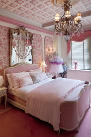 Pink Damask Girls Room French Provincial Bed Regency Carpet Better Decorating Bible Blog Interior Design Frilly