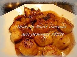 cuisiner les noix de jacques noix de jacques snakées et pommes rôties la cuisine