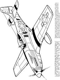 From Airplanes Of The Second World War Coloring Book
