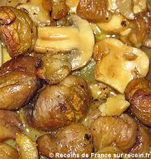 cuisiner des marrons frais recette poulet aux marrons sur recoin fr
