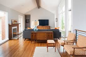 mid century living room midcentury with mid century