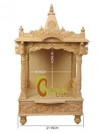 Awesome Home Wooden Temple Design Pictures - Amazing Design Ideas ... Modern Mandir Design Home Finest Small Puja Room With Indian Temple For Ideas Best Free Pooja Designs Decorating 2749 Ghar360home Remodeling And Door Images About Glass Doors Interior Architects Interiors 7 Beautiful Wooden Teak Wood Pin By Bhoomi Shah On Diy White Gold