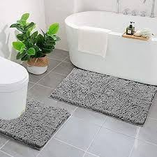 grau wc vorleger und weitere badtextilien günstig