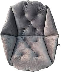 geling stuhlkissen sitzkissen warm sitzauflage dicke sitzpolster esszimmer für büro auto wohnzimme grau 40x48cm