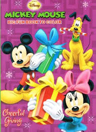 Get Quotations DisneyAR Mickey Mouse Christmas Coloring Book Set 2 Books
