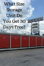 100 Cheap One Way Truck Rentals What Size Storage Unit Do You Get 30 Days Free Funny Pinterest
