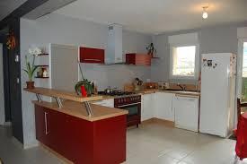 cuisine amenagee en u plan 3d cuisine aménagée sur mesure acn à rennes
