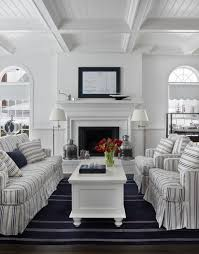 nautical navy traditional living room other by cottage