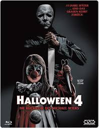 Halloween Michael Myers Gif by Halloween 4 The Return Of Michael Myers Blu Ray Lenticular