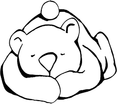 Sleeping Bear For Hibernating Craft CraftsFree Printable Coloring PagesPreschool