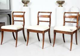 3 Antique Regency Rosewood Mahogany Dining Chairs Side 19th Century Painted How To Transform A Vintage Ding Table With Paint Bluesky Pating My Antique Six Edwardian French Painted Chairs 364060 19th Century Country Set Of 6 Balloon Back Good 1940s Faux Bamboo Eight 1920s Pair Regency 2 Side White Chippy Chair Early 20th Louis Xvi Chairsset 8 Abc Carpet Home Style Fniture And European Buy Cheap Punched Wood Handpainted