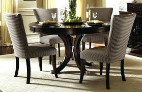 Espresso Round Dining Table Set Full Size Of Chairs