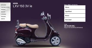 Bro Sekalian Sepeti Kita Ketahui Kemarin Di Arena PRJ Piaggio Indonesia Secara Resmi Merilis Satu Lagi Varian Vespa 150 Cc Nya Yakni LXV Ie 3V