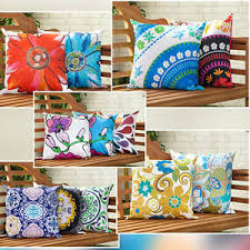 Image Is Loading Water Resistant Canvas Outdoor Cushions Scatter