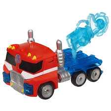 100 Rescue Bots Fire Truck Transformers Energize Optimus Prime Figure