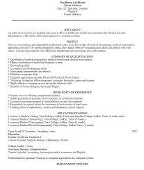 radiology clerk sle resume radiology clerk resume template