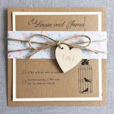Shabby Chic Wedding Invitation From Eaton Cards And Stationery