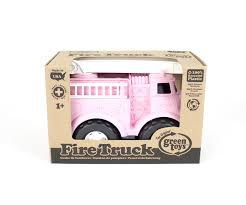 100 Pink Fire Truck Toy Green S Vehicle 11 X 65 X 75 816409011994