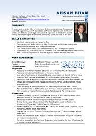 Hr Sample Resumes - Magdalene-project.org