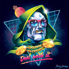 Just Another Guy Looking For Someone To Make A Hi Res New Retro Wave Dr Doom Wallpaper