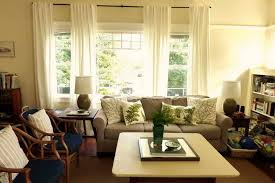 Living Room Curtain Ideas 2014 by Living Room Curtains For Double Windows Living Room Curtain Ideas