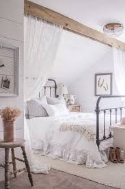Smart Idea Bedroom Ideas 20 A Clean And Cozy Farmhouse Master With Tons Of Vintage Charm Nice Looking