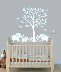 Boy Nursery Wall Decals Brown Background Wall Decals Baby Nursery