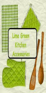 Lime Green Kitchen Accessories3