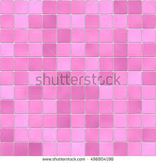 Tile In The Bathroom Pink Background Of