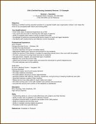 Resume Skills Examples Fresh Sample Rn Inspirational Cna Bsn