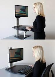Ergo Elements Standing Desk by Desk Ergo Elements Adjustable Height Standing Desk With Manual