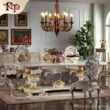 2018 European Antique Dining Room Furniture Hand Carved Set Italian Style French Classic Chair From Fpfurniturecn