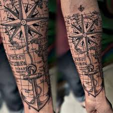 Great And Nice Nautical Sleeve Tattoos