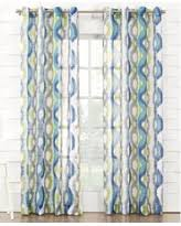 Blue Crushed Voile Curtains by Geometric Sheer Curtains U0026 Drapes Bhg Com Shop
