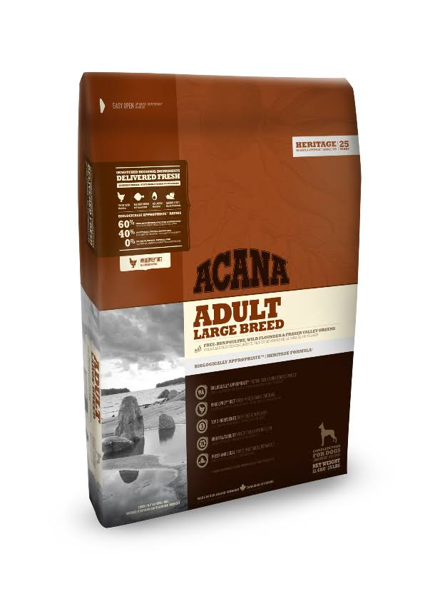 Acana Adult Large Breed Dog Heritage Treat - 17kg