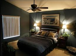 UncategorizedCasual Style Small Bedroom Paint Ideas With Dark Blue Wall On Combined White