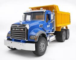Amazon.com: Bruder Mack Granite Dump Truck: Toys & Games