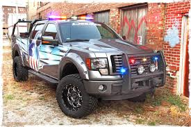 100 Ford Trucks Accessories Truck Tough Police Truck Police