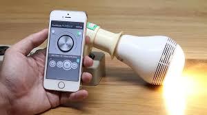 mipow playbulb bluetooth speaker smart led light bulb