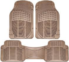 Universal Fit 3-Piece Full Set Ridged Heavy Duty Rubber Floor Mat ... Floor Lovely Mat Design Rubber Mats Best Queen For 2015 Ram 1500 Truck Cheap Price For Vinyl Flooring Fresh Autosun Beige Pilot Chevy Of Red Metallic Set 4pc Car Interior Hd Auto Pittsburgh Steelers Front 2 Piece Amazoncom Armor All 78990 3piece Black Heavy Duty Full Coverage 2010 Ford Ranger Allweather Season Fxible Rubber Fullcoverage Walmartcom