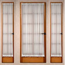 Sidelight Window Curtain Panel by Voile Door Curtain Panel Sidelight Curtains U2014 Jen U0026 Joes Design