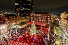65 Ft Christmas Tree by Sundance Square Annual Christmas Tree Lighting Downtown Ft Worth